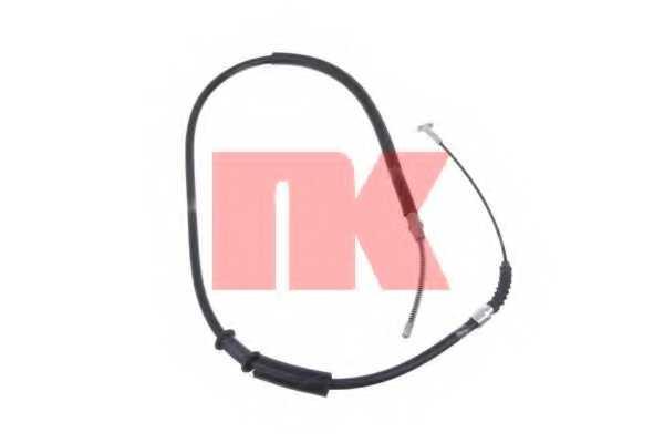 Трос стояночной тормозной системы NK 9023100 - изображение