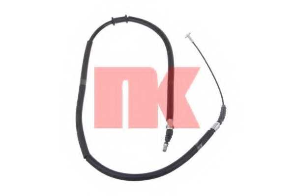 Трос стояночной тормозной системы NK 9023101 - изображение