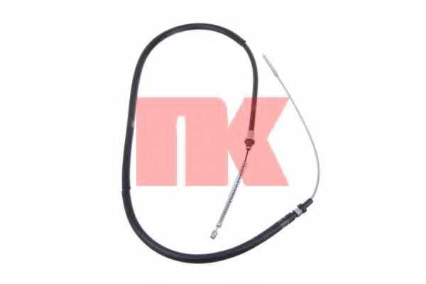 Трос стояночной тормозной системы NK 9023113 - изображение