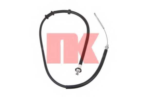 Трос стояночной тормозной системы NK 9023125 - изображение