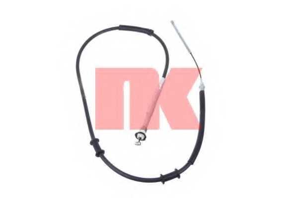 Трос стояночной тормозной системы NK 9023132 - изображение