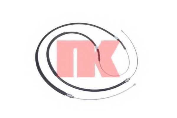 Трос стояночной тормозной системы NK 9023137 - изображение