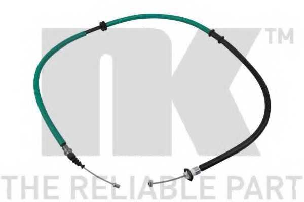 Трос стояночной тормозной системы NK 9023149 - изображение