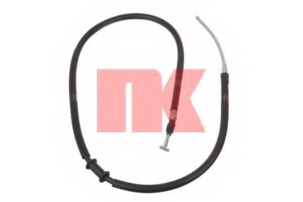 Трос стояночной тормозной системы NK 9023150 - изображение