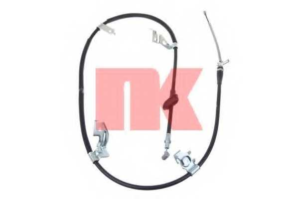 Трос стояночной тормозной системы NK 9023153 - изображение