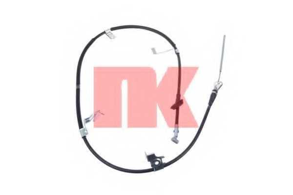Трос стояночной тормозной системы NK 9023154 - изображение