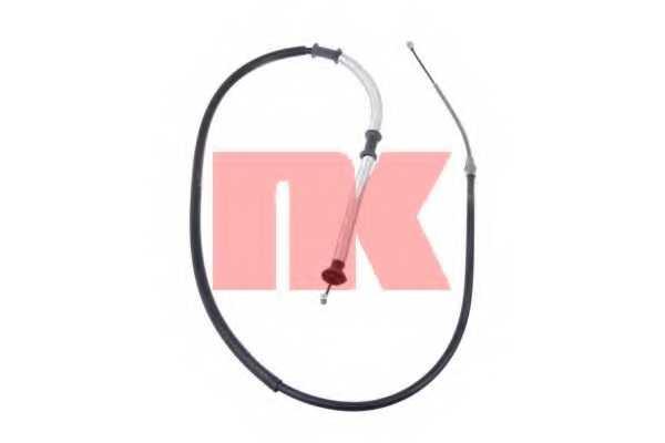 Трос стояночной тормозной системы NK 9023159 - изображение
