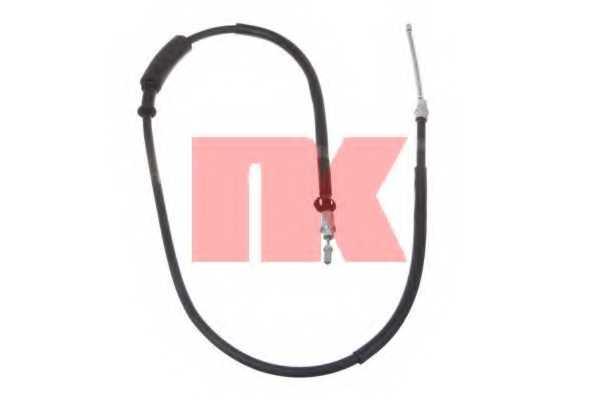 Трос стояночной тормозной системы NK 902368 - изображение