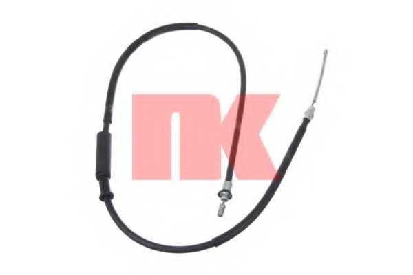 Трос стояночной тормозной системы NK 902369 - изображение