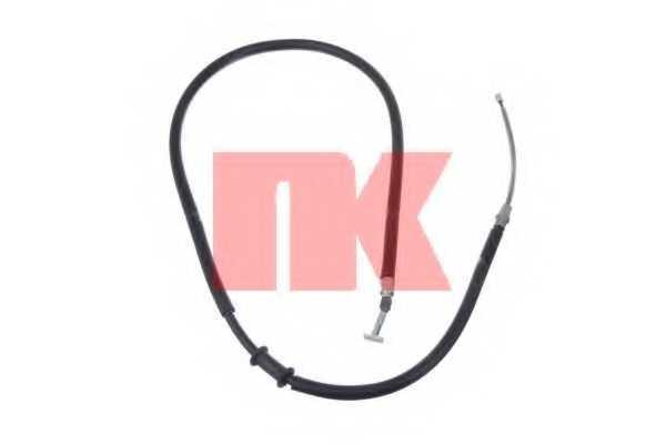 Трос стояночной тормозной системы NK 902395 - изображение