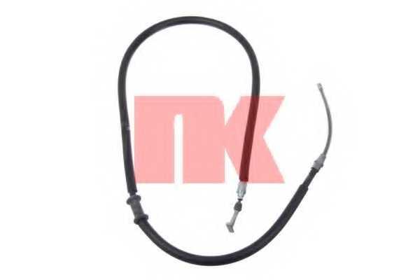 Трос стояночной тормозной системы NK 902396 - изображение