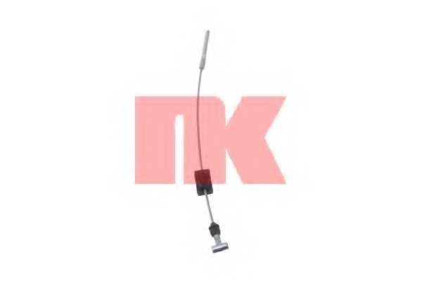 Трос стояночной тормозной системы NK 9025101 - изображение