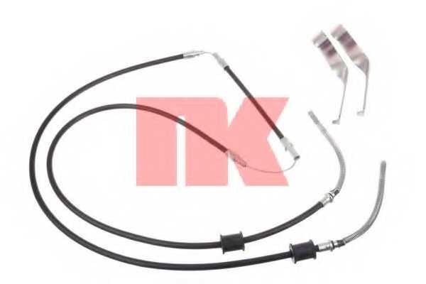 Трос стояночной тормозной системы NK 9025105 - изображение