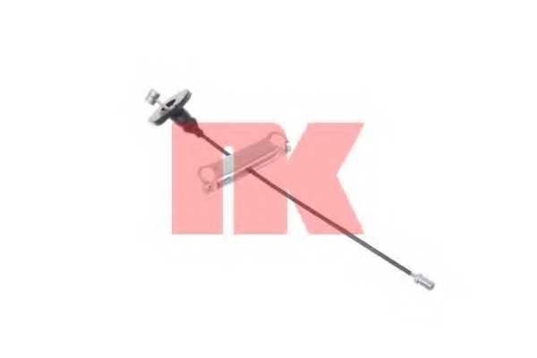 Трос стояночной тормозной системы NK 9025109 - изображение