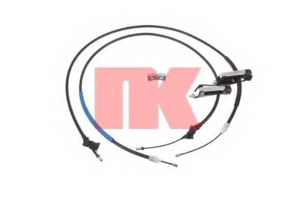 Трос стояночной тормозной системы NK 9025111 - изображение