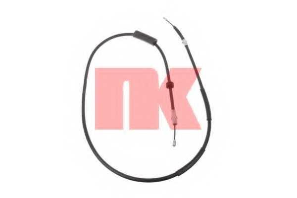 Трос стояночной тормозной системы NK 9025113 - изображение