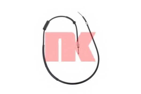 Трос стояночной тормозной системы NK 9025114 - изображение