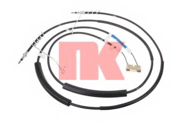 Трос стояночной тормозной системы NK 9025120 - изображение