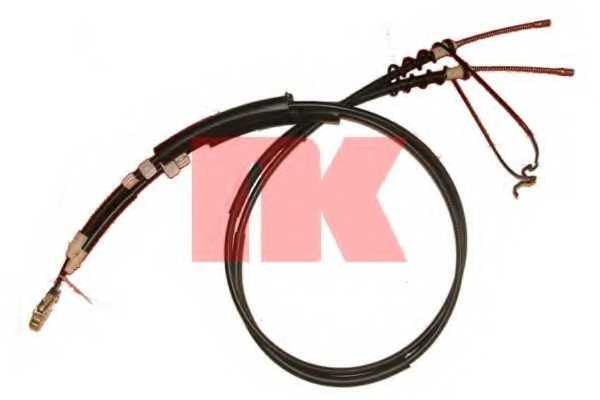 Трос стояночной тормозной системы NK 9025121 - изображение