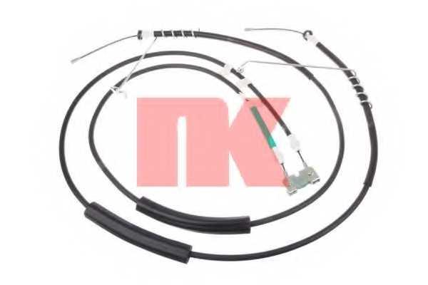 Трос стояночной тормозной системы NK 9025122 - изображение