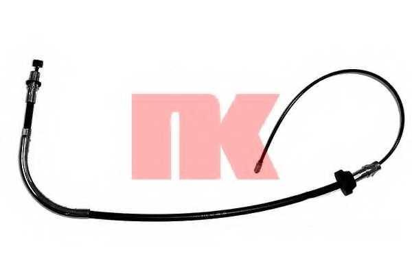 Трос стояночной тормозной системы NK 9025123 - изображение