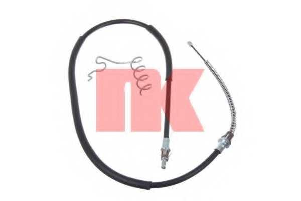 Трос стояночной тормозной системы NK 9025125 - изображение
