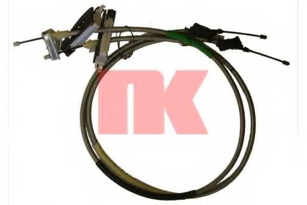 Трос стояночной тормозной системы NK 9025139 - изображение