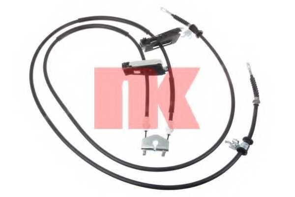 Трос стояночной тормозной системы NK 9025140 - изображение