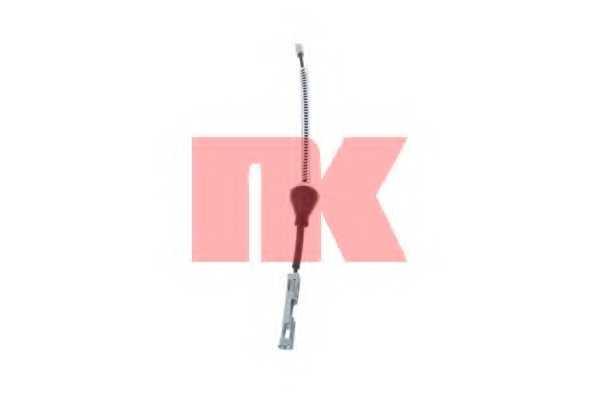Трос стояночной тормозной системы NK 9025143 - изображение