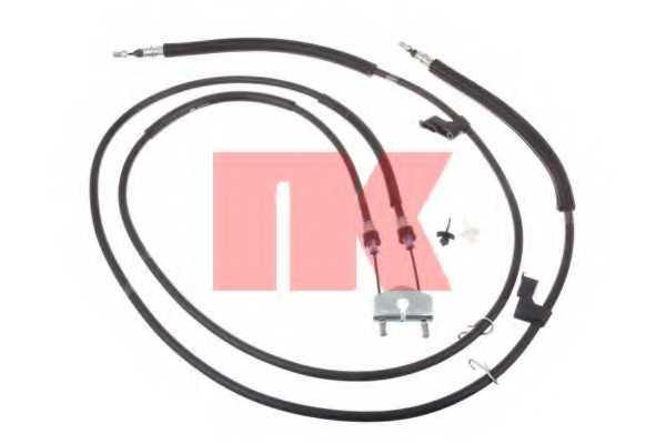 Трос стояночной тормозной системы NK 9025144 - изображение