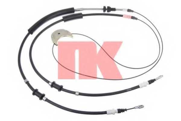 Трос стояночной тормозной системы NK 9025156 - изображение