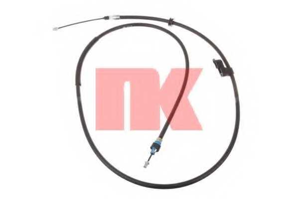 Трос стояночной тормозной системы NK 9025157 - изображение