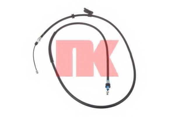Трос стояночной тормозной системы NK 9025158 - изображение