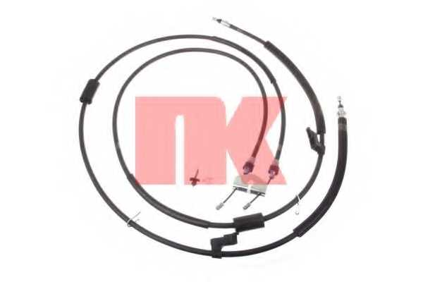 Трос стояночной тормозной системы NK 9025169 - изображение