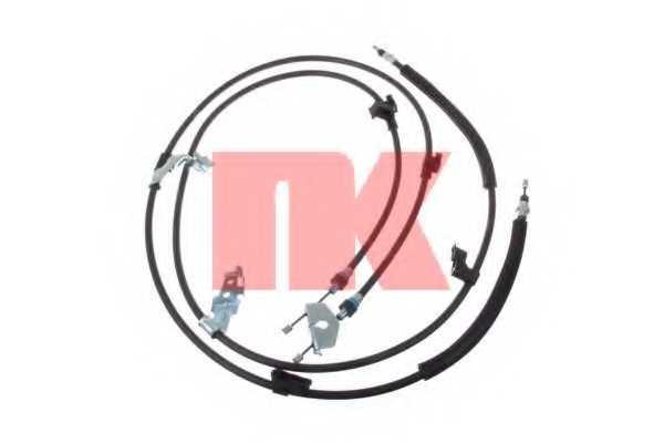 Трос стояночной тормозной системы NK 9025170 - изображение