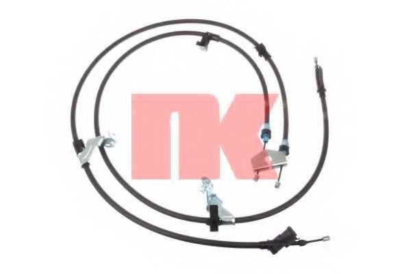 Трос стояночной тормозной системы NK 9025171 - изображение