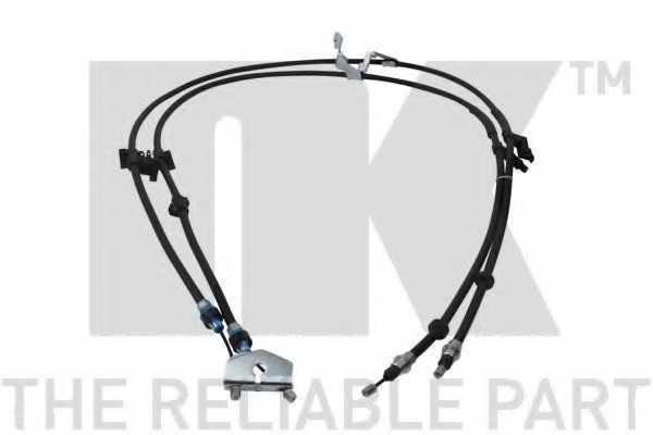Трос стояночной тормозной системы NK 9025176 - изображение