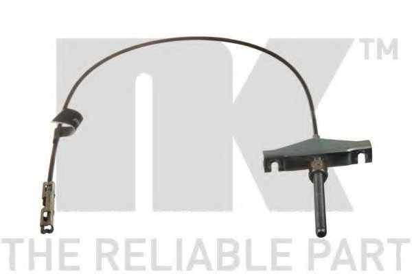 Трос стояночной тормозной системы NK 9025180 - изображение