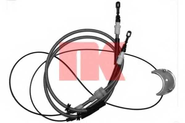 Трос стояночной тормозной системы NK 902555 - изображение