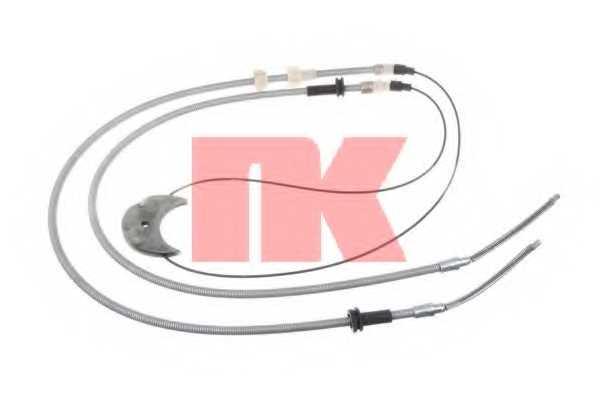 Трос стояночной тормозной системы NK 902556 - изображение