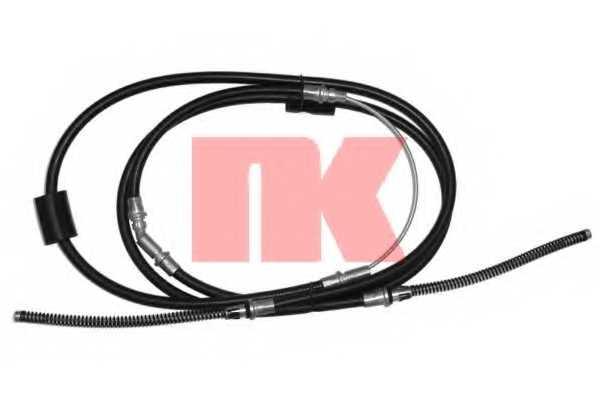 Трос стояночной тормозной системы NK 902563 - изображение