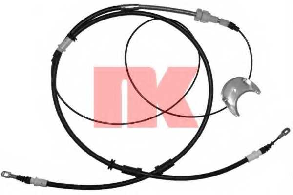 Трос стояночной тормозной системы NK 902571 - изображение