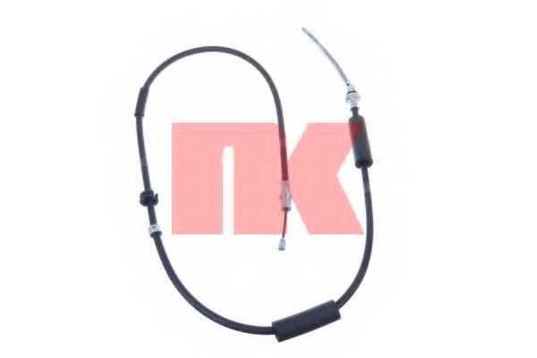 Трос стояночной тормозной системы NK 902582 - изображение
