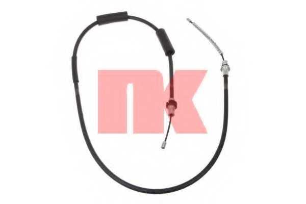 Трос стояночной тормозной системы NK 902586 - изображение