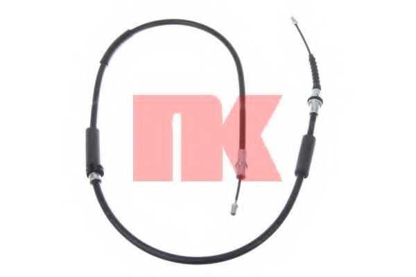 Трос стояночной тормозной системы NK 902587 - изображение