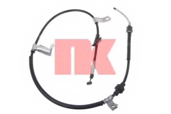 Трос стояночной тормозной системы NK 902623 - изображение