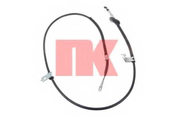 Трос стояночной тормозной системы NK 902632 - изображение