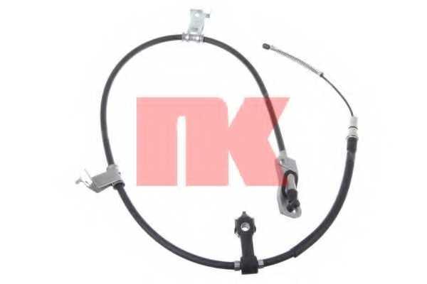 Трос стояночной тормозной системы NK 902634 - изображение