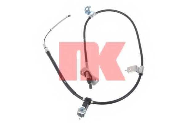 Трос стояночной тормозной системы NK 902635 - изображение