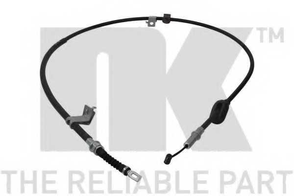 Трос стояночной тормозной системы NK 902637 - изображение